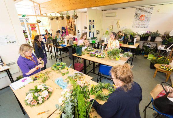 Floristry classroom