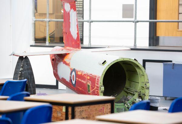 Aeronautical engineering equipment - aeroplane part